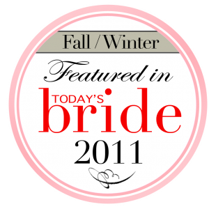 featured in today's bride magazine