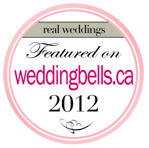 featured on weddingbells.ca