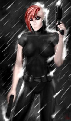 Artflow - Female Assasin Rain